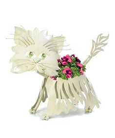 Take a look at this Georgetown Persian Cat Large Planter by Georgetown Home and Garden on #zulily today!