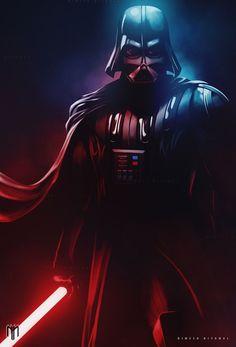 Darth Vader by Nimesh Niyomal #DarthVader