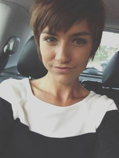 if I get a pixie cut this is the texture it will be