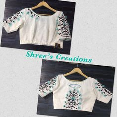 Beautiful designer blouse by Shrees creations