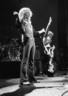 Jimmy Page & Robert Plant Led Zeppelin