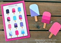 Popsicle Hunt from I Heart Nap Time