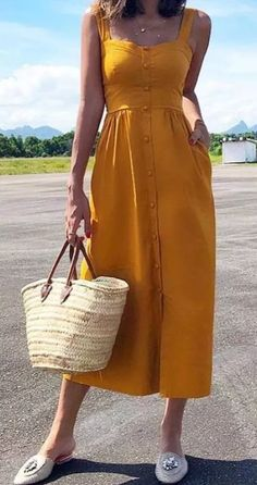 Simple formulas for summer outfits casual and perfect Summertime Outfits, Casual Summer Outfits, Spring Outfits, Casual Dresses, Cool Outfits, Fashion Dresses, Summer Dresses, Teen Girl Outfits, Next Clothes