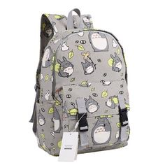 Amazon.com: Seamand Anime My Neighbor Totoro Backpack Bag School Bag: Clothing