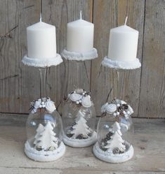 30 Cheap and Easy Homemade Wine Glasses Christmas Candle Holders - SeShell Blog