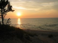 Pinery Provincial Park on Lake Huron in Ontario. Photo by FerdC
