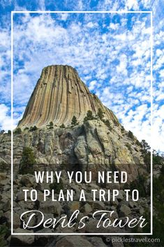 Tower: A photo Essay of America's First National Monument What to see and do with the kids at Devils tower National Monument in Wyoming. Just an easy drive from the Black Hills and Mount Rushmore it's the perfect destination to have on your USA Road Trip South Dakota Vacation, South Dakota Travel, Bad Lands South Dakota, Rapid City South Dakota, Wyoming Vacation, Vacation Trips, Family Vacations, Road Trip Destinations, Family Trips