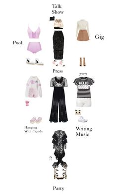 """""""Pop star closet 14"""" by jumpkat ❤ liked on Polyvore featuring Clover Canyon, Pierre Hardy, Marni, Roksanda, Victoria Beckham, Sophia Webster, Markus Lupfer, Topshop, Maison Margiela and Zimmermann"""