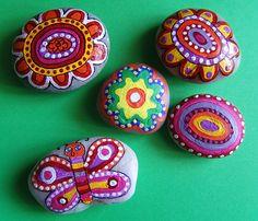 Painted Rocks, Spring, Flowers, Painting, Image, School, Painting On Stones, House, Painting Art