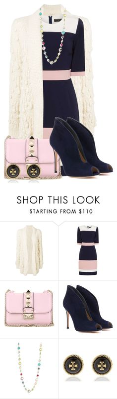 """Dress#45284"" by smriti4520 ❤ liked on Polyvore featuring Ulla Johnson, Paper Dolls, Valentino, Gianvito Rossi, Ippolita and Tory Burch"