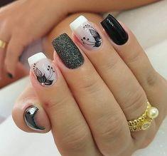 Elegant Nails, Classy Nails, Stylish Nails, Simple Nails, Trendy Nails, Best Acrylic Nails, Acrylic Nail Designs, Nail Art Designs, Nagellack Design
