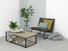 Industriële salontafel Jeff | Industriële meubels op maat door FØRN