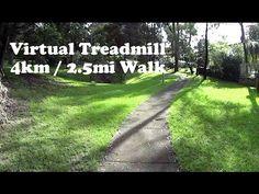 Virtual Treadmill Walk 4km / 2.5mi @ 5.7kph / 3.5mph - Cordeaux Heights,...