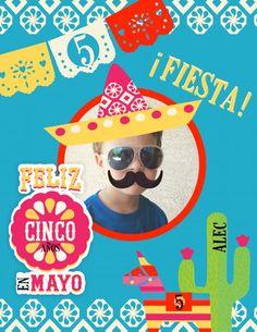 Alec cinco de mayo, kids birthday party