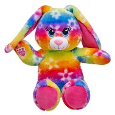 16 in. Bright Blooms Bunny | Build-A-Bear Workshop