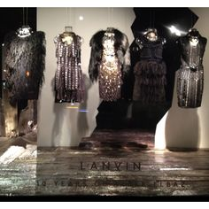Lanvin window display at Barney's - Madison Avenue, NYC - Spring 2012