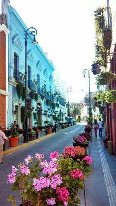 Mexico: Atlixco, Puebla Ideas para viajar en Invierno sugerencia Parola #6. Si vas a Viajar a #Puebla, pasa un día en #Atlixco, vive la villa iluminada del 25 de Diciembre al 6 de enero, será todo un deleite pasear por el centro y conocer sus grandes ex-conventos, como del Carmen o San Francisco, y no puedes irte sin probar la famosa cecina de Atlixco.