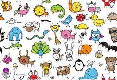 """Képtalálat a következőre: """"egyszerű rajzok állatokról"""""""