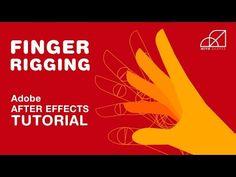 Hand Finger Rigging & Animation – Adobe After Effects Tutorial – Animation ideas Vfx Tutorial, Animation Tutorial, Digital Art Tutorial, Photoshop Tutorial, Motion Design, Motion Graphs, Adobe After Effects Tutorials, After Effect Tutorial, Photoshop Tips