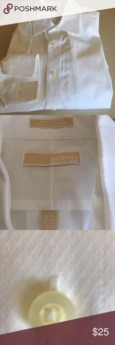 Men's dress shirt Michael lord long sleeve dress shirt Michael Kors Shirts Dress Shirts