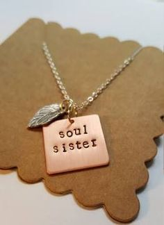 soul sisters necklace - Google Search