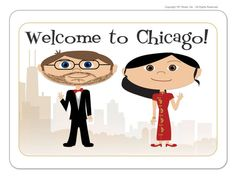 City Skyline Wedding Welcome Bag Stickers by 76thStreetInk on Etsy, $55.00