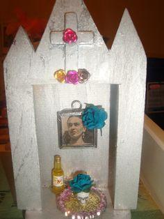 Frida Kahlo mini shrine things I made at one time..