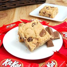 Sweet Pea's Kitchen » Kit Kat Cookie Bars. KitKats are definitely one of my favorite candy bars