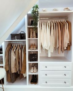 9 Kleiderschrank Ikea K. 9 wardrobe # Closet Ideas # ClosetDiyIkea kitchen planner Realize your dream kitchen Most Ikea customers are already familiar with the planning tools provided by Ikea. With the Ikea Planner Too Attic Bedroom Closets, Attic Master Bedroom, Attic Bedroom Designs, Attic Closet, Attic Rooms, Closet Designs, Closet Bedroom, Diy Bedroom, Bedroom Furniture