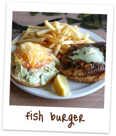 """""""Best fish sandwich, best fish & chips"""" The Paia Fish Market  In the heart of Paia town on the corner of Baldwin Avenue and Hana Hwy on Maui."""