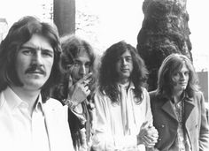 Robert Plant, Jimmy Page, John Bonham & John Paul Jones | Led Zeppelin