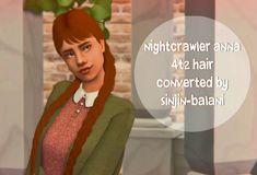 Poppet Hair Sims 2 Hair, My Girl, Disney Princess, Disney Characters, Hair Styles, Cheddar, Cas, Anna, Nice
