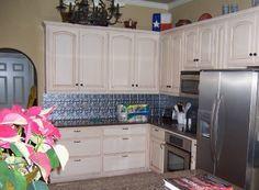 Tin Backsplash For Kitchen Tiles Kitchen Redo, Kitchen Tiles, Kitchen Remodel, Kitchen Cabinets, Backsplash, Interior Design, Kitchen Inspiration, House, Remodeling
