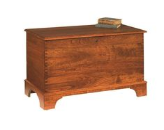 Handcrafted in America, the Gladwin Cherry Wood Shaker Deep-Storage Hope Chest has a cedar bottom. You can add a brass plate engraving to personalize your hope Wooden Toy Chest, Wooden Toys, Cherry Furniture, Brass Plaques, Diy Dining Table, Blanket Chest, Amish Furniture, Hope Chest, Storage Chest