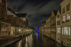 Historical Dordrecht by Night