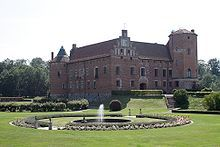 Torup Castle (Swedish: Torups slott) is a castle in Svedala Municipality, Scania, in southern Sweden. It is situated approximately 15 kilometres (9.3 mi) east of Malmö.