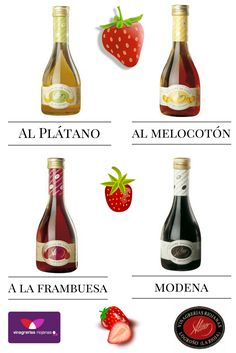 #Fresas con #vinagre, una forma deliciosa de acabar una comida, ¿qué #vinagre utilizarías tú? #Vinagreando #Vinagre de #Melocotón, de #frambuesa, de #Módena o de #Plátano