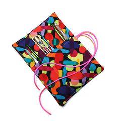 Crafty Crochet Hook Roll Organizer Multicolor by cozylittlecorner