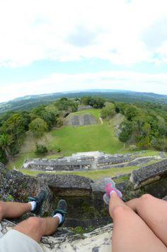 Belize, mayské ruiny Xunantinech http://nohynacestach.cz/belize/