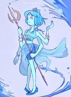 Lapis Lazuli & Pearl