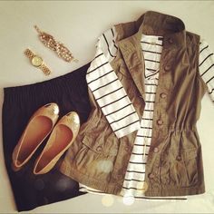 Love the top and jacket combination. Casual fall outfit. Instagram @Shana Wernow Wernow Wernow Wernow Strock