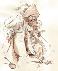 FEDERICO BERTOLUCCI - pirata (http://federicobertolucci.blogspot.ie/ )✤ || CHARACTER DESIGN REFERENCES | キャラクターデザイン |  • Find more at https://www.facebook.com/CharacterDesignReferences & http://www.pinterest.com/characterdesigh and learn how to draw: concept art, bandes dessinées, dessin animé, çizgi film #animation #banda #desenhada #toons #manga #BD #historieta #strip #settei #fumetti #anime #cartoni #animati #comics #cartoon from the art of Disney, Pixar, Studio Ghibli and more || ✤