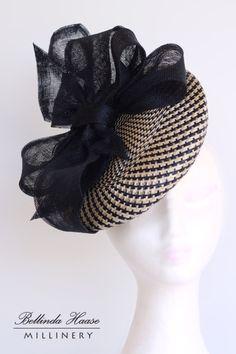 Riley BY BELLINDA HAASE #millinery #hats #HatAcademy