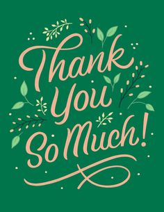 Thank You Images, Thank You Quotes, Fun Quotes, Script Lettering, Lettering Design, Brush Script, Calligraphy Letters, Thank You Letter, Thank You Cards
