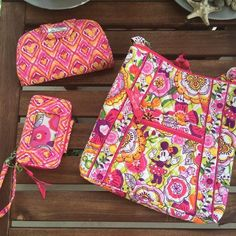 Mickey Mouse Bouncing Bouquet Vera Bradley Bags Still Available For Up To 30% Off! - handbags, gucci, satchel, homemade, big, homemade purses *ad