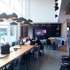"APTO op Instagram: ""Moxy Milan lobby interior designed by APTO (www.apto.nl). #atthemoxy #apto #interiordesign"""