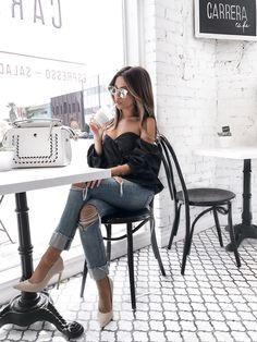 My Favorite Insta-Worthy Cafe's In LA | http://www.mywhitet.com/insta-worthy-spots-la/