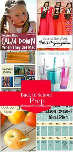 Back to School Prep by The New York Melrose Family