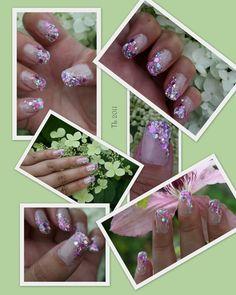 Thulian In Wonderland: Practising gel nails