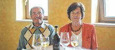 """Aldo and Bianca, """"father and mother"""" as the children call them, with many sacrifices devolped the winery and transmitted the passion for Garganega, creating the first Recioto that still today the company produces."""